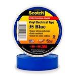 Scotch Vinyl Electrical Blue Color Coding Tapes 35