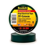 Scotch Vinyl Electrical Green Color Coding Tapes 35