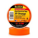 Scotch Vinyl Electrical Orange Color Coding Tapes 35