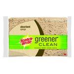 3M Scotch-Brite Greener Clean Biodegradable Absorbent Sponge