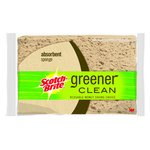 3M Scotch-Brite Greener Clean Biodegradable Absorbent Sponge