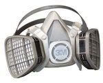 Large Organic Vapor 5000 Series Half Facepiece Respirator
