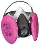 Small P100 6000 Series Half Facepiece Respirator Assemblies