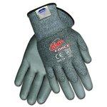 Ninja Force Polyurethane Coated Gloves, Extra Large, Gray