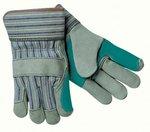 12 OZ. Men's Canvas Gloves w/Knit Wrist