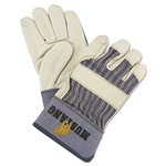 Large Mustang Grain Leather Palm Gloves