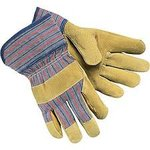 Large Grain Leather Palm Gloves