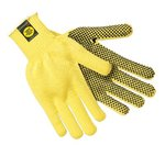 Large Flame Resistant PVC Dotted Kevlar Gloves