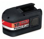 NiCad Power-Plus 18 Volt Rechargeable Dry Cell Batteries