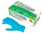 Large 8 Mil Blue Disposable Nitrile Gloves