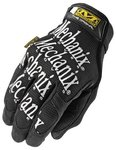 Small Black Spandex/Synthetic Leather Original Gloves