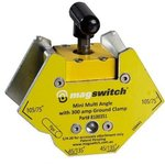 Mini Multi-Angle Welding Magnet w/ 300 Amp Grounding