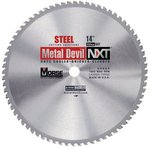 "14"" Metal Devil NXT Carbide-Tipped Circular Saw Blades"