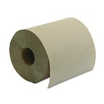 Brown, Hardwound Roll Towels-8-in x 350-ft.