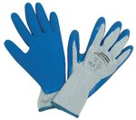 Size 8 Duro Task Supported Natural Rubber Gloves