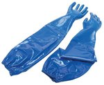 Size 10 Blue Nitri-Knit Supported Nitrile Gloves
