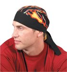 Big Flames Tuff Nougies Regular Tie Hats