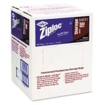 Clear, Zip Close Disposable Utility Bags-1 Gallon