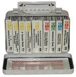 10 Unit Weatherproof Steel First Aid Kits