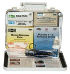 Weatherproof Steel 25 Person Vehicle First Aid Kit
