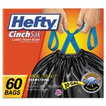 30 Gallon White Kitchen Trash Bags