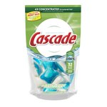 Cascade Action Pacs Dishwashing Detergent Fresh Scent 32 Count
