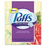 Puffs Ultra Soft & Strong 2-Ply Facial Tissue 56 Count