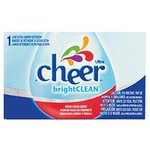 Cheer Coin Vend Powdered Laundry Detergent-Single Use