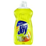Yellow, Lemon Scented Dish Detergent-12.6-oz