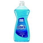 Blue, DAWN Original Liquid Dish Soap-12.6-oz