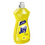 Yellow, Lemon Twist Scented JOY Dish Soap-14-oz