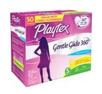 Playtex Gentle Glide Tampon 50 Count