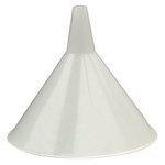 White 48 oz Utility Plastic Funnel
