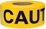 Yellow Caution 1000 ft Safety Barricade Tape