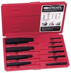 10 Piece Screw Extractor Set w/Blow Molded Box