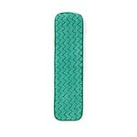 Green, Microfiber Dry Room Pad-18-in