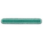 Green, Microfiber Cut-End HYGEN Dust Mop Heads With Fringe-60-in