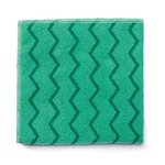 Green, Microfiber Cleaning Cloths-16 x 16