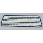 Blue and White, Microfiber Finish Pad-18-in