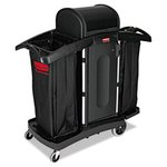 High Security Janitorial Cleaning Cart