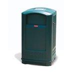 Dark Green Plaza Container 50 Gallon w/ Ashtray