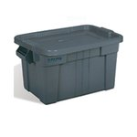 20 Gallon Brute Tote with Lid