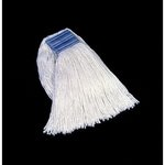 White, 24-oz Cotton/Synthetic Cut-End Blend Mop Heads-5-in Headband