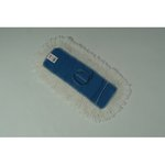 White, Cotton Kut-A-Way Cut End Dust Mop Heads-24 x 5