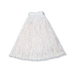 White, 20-oz Rayon Cut-End Economy Mop Head
