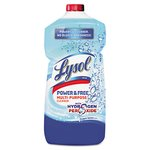 Lysol Power & Free Multipurpose Cleaner Pour Bottle Oxygen Fresh Scent