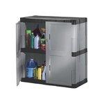 Heavy Duty Storage Cabinet w/ two Shelves
