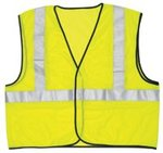 Flourescent Lime River City Class II Safety Vest