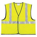 2X-Large Class II Lime Economy Safety Vest