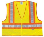 Large Lime Luminator Class II Safety Vests
